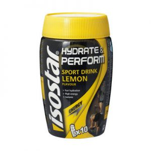 Isostar Hydrate and Perform Lemon