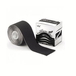 Nasara Kinesiotape 500 x 5 cm zwart