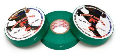 PST kousentape 33 m x 19 mm groen