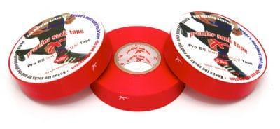 PST kousentape 33 m x 19 mm rood