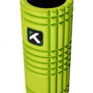 Foam Roller The Grid lime groen