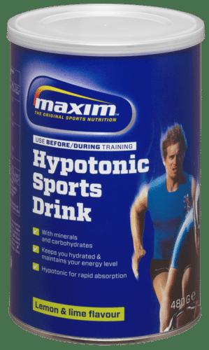 Maxim energy drink lemon lime
