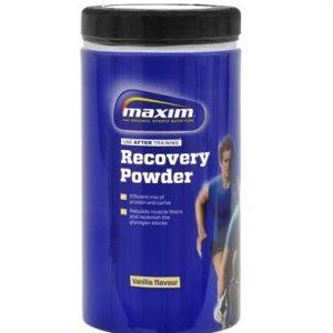 Maxim recovery powder vanille