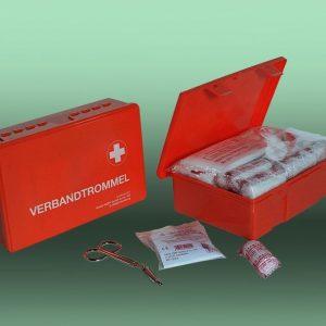 Verbandtrommel Standaard B gevuld