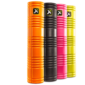 Foam Roller The Grid 2.0 lime groen