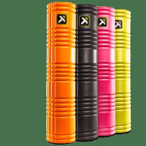 Foam Roller The Grid 2.0 oranje